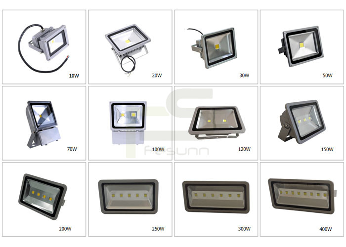 Hotsell outdoor LED lamp 10W 20W 30W 50W 150W 200W 300W floodlights